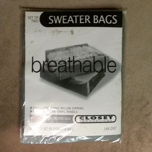Closet Innovations Sweater Bags